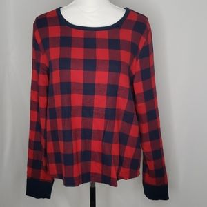 Melrose and Market Checkered Sweater NWT